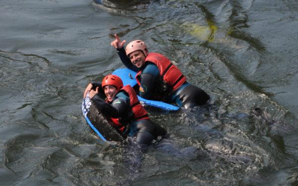 Actividades acuáticas: hidrospeed