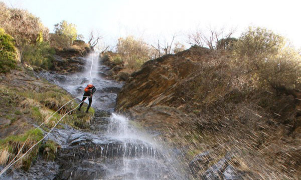 Barranquisme: barranc d'Escaló (Pirineu de Lleida)