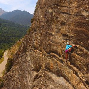 Fin de semana de aventura: escalada