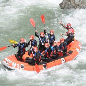 Fin de semana de aventura: rafting