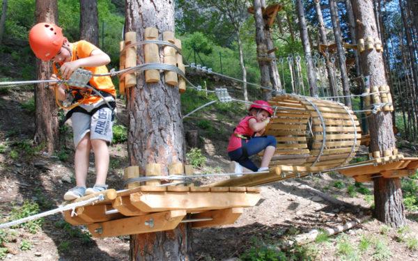 Pirineus Parc Aventura, parque de aventura en el Pallars